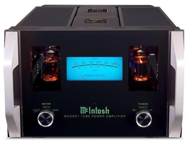 McIntosh® Tube Power Amplifier-Black-MC2301