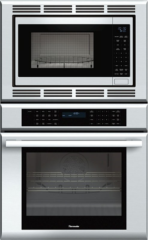 """Thermador® Masterpiece® Series 30"""" Electric Oven/Microwave Combo Built In-Stainless Steel-MEDMC301JS"""