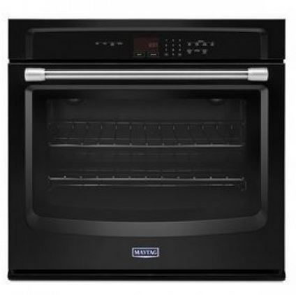 """Maytag 27"""" Electric Single Oven Built In-Black-MEW7527DE"""