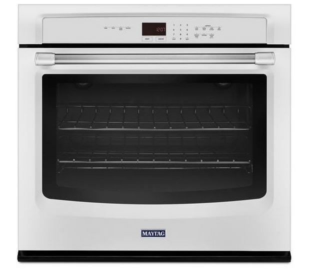"""Maytag 27"""" Electric Single Oven Built In-White-MEW7527DH"""