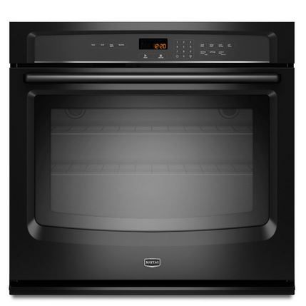 """Maytag 30"""" Electric Single Oven Built In-Black-MEW7530DB"""