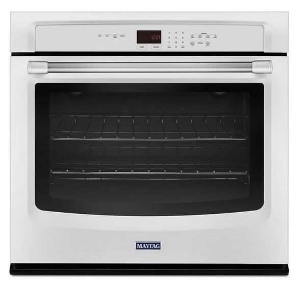 """Maytag 30"""" Electric Single Oven Built In-White-MEW7530DH"""