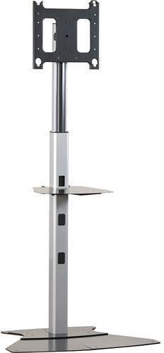 Chief® Silver Medium Flat Panel Floor AV Stand-MF1US