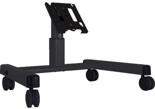 Chief® Black Medium Confidence Monitor Cart-MFQUB