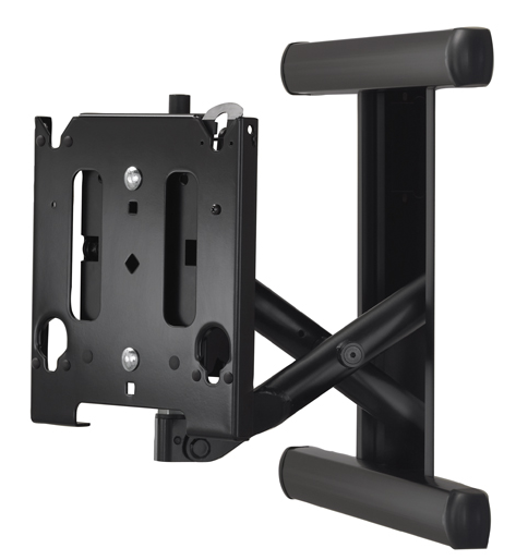 Chief® Black Manufacturing Medium Low-Profile In-Wall Swing Arm Mount-MIWRF6000B