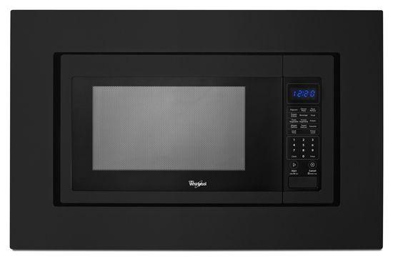 """KitchenAid® 30"""" Black Microwave Trim Kit-MK2160AB"""