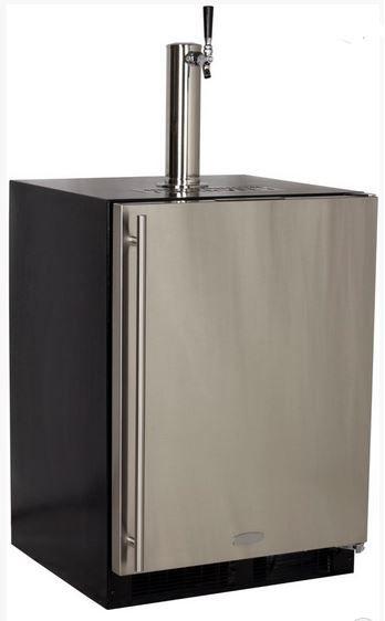 Marvel 5.7 Cu. Ft. Stainless Steel Beer Cooler/Kegerator-ML24BSS2RS