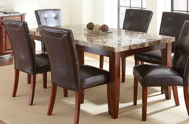 Steve Silver Co. Montibello Marble Top Table-MN500T