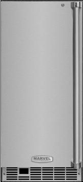 """Marvel Professional Series 15"""" Clear Ice Machine-Stainless Steel-MP15CPS2LS"""