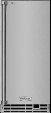 """Marvel Professional Series 15"""" Clear Ice Machine-Stainless Steel-MP15CPS2RS"""