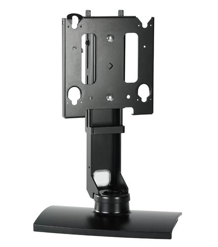 Chief® Manufacturing Black Medium Flat Panel Swivel Table Stand-MSSUB
