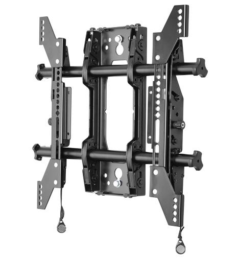 Chief® Manufacturing Black Medium Fusion Micro-Adjustable Tilt Wall Mount-MTMS1U