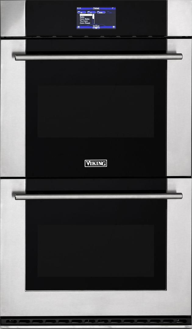 """Viking® Professional Virtuoso 6 Series 30"""" Double Thermal Convection Oven-Stainless Steel-MVDOE630SS"""
