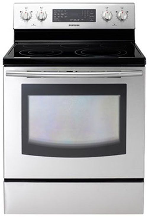 """Samsung 30"""" Free Standing Electric Range-Stainless Steel-NE595R0ABSR/AA"""