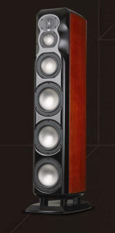 "Revel Ultima2 Loudspeaker Series 8"" 4-Way Floorstanding Loudspeaker-Mahogany Wood-NSALON2 MAHOGANY"
