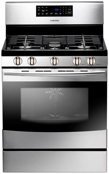 Samsung Free Standing Gas Range-Stainless Steel-NX583G0VBSR