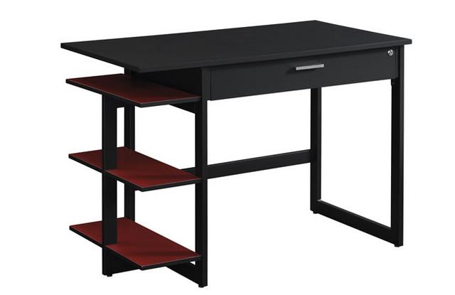 Bell'O® Flagler Black Home Office Desk-OD8453-45-PB01