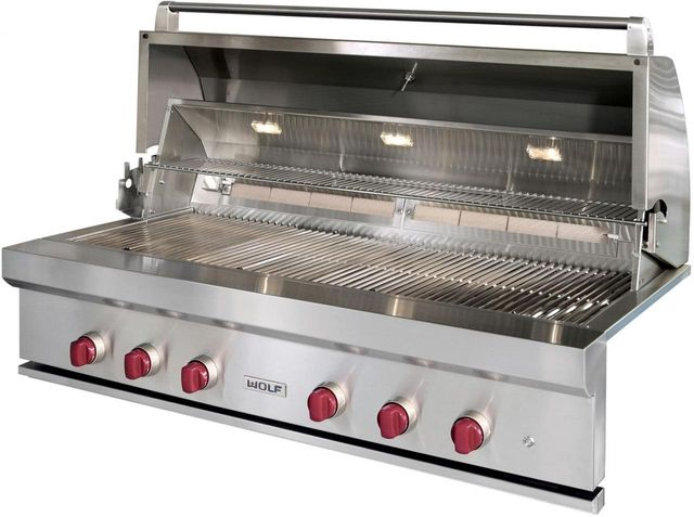 Wolf® Built In Grill-Stainless Steel-OG54