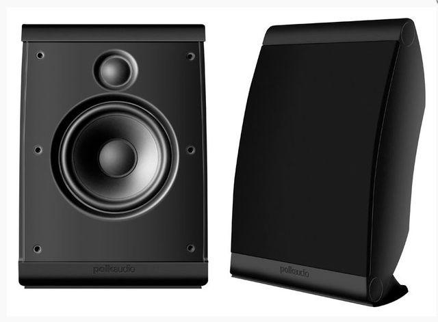 Polk Audio® OWM Series OWM3 Black Compact Multi-Application Speakers-AM3345