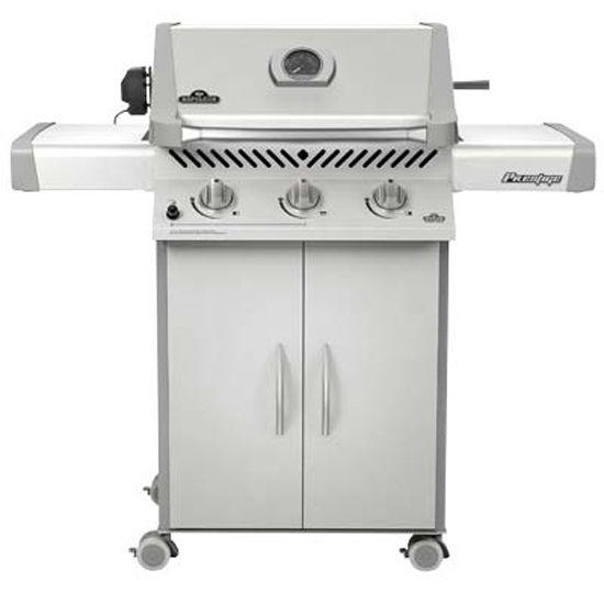 Napoleon® Prestige® Free Standing Liquid Propane Grill-Stainless Steel-P308RBPSS-7