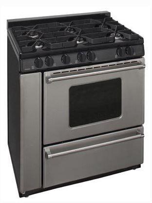 "Premier Pro Series 36"" Pro Style Gas Range-Stainless Steel-P36B3182P"