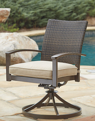 Ashley® Moresdale Outdoor Swivel Chair-P457-602A