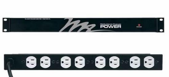 Middle Atlantic Products Inc.® 8 Outlet 15A Basic Surge Rackmount Power-PD-815R-PL
