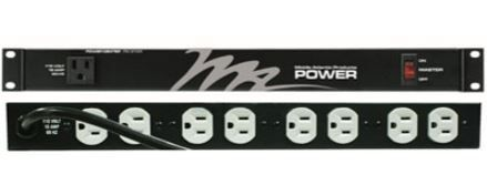 Middle Atlantic Products Inc.® 15A 9 Outlet Basic Surge Rackmount Power-PD-915R