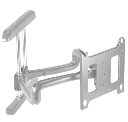 Chief® Professional AV Solutions Silver Large Flat Panel Swing Arm Wall Mount-PDR2000S