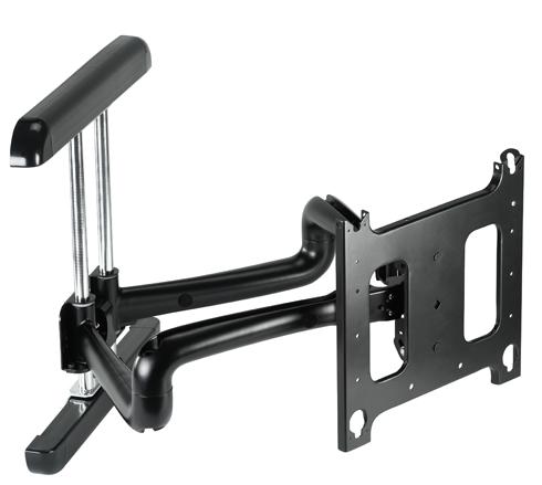 Chief® Professional AV Solutions Black Large Flat Panel Swing Arm Wall Mount-PDRUB