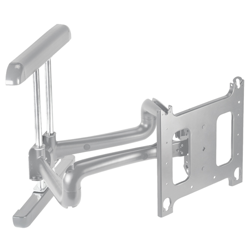 Chief® Professional AV Solutions Silver Large Flat Panel Swing Arm Wall Mount-PDRUS