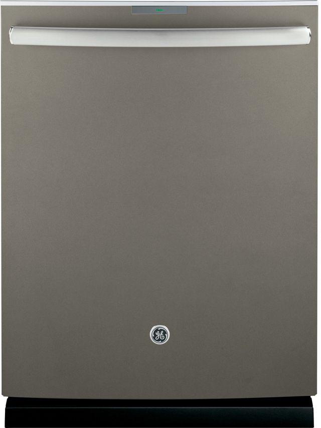"""GE Profile™ 24"""" Slate Built In Dishwasher-PDT845SMJES"""