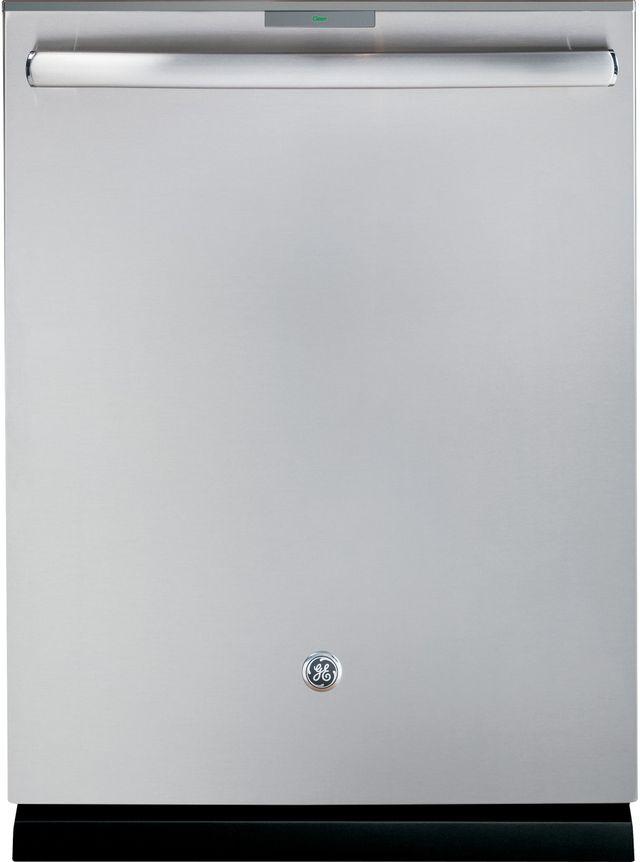 "GE Profile™ 24"" Stainless Steel Built In Dishwasher-PDT845SSJSS"
