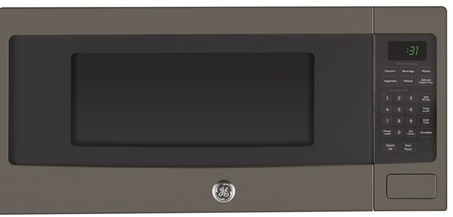 GE Profile™ 1.1 Cu. Ft. Slate Countertop Microwave Oven-PEM31EFES