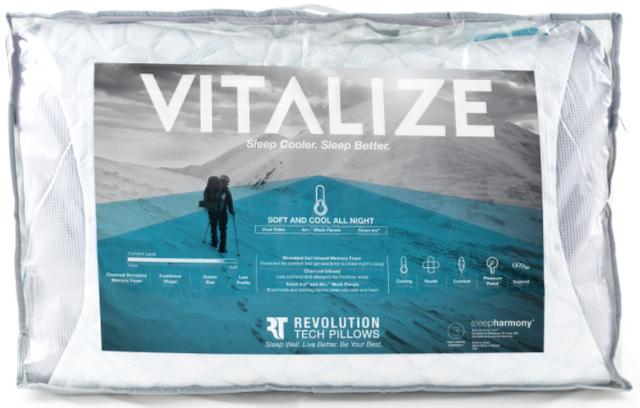 Glideaway® Vitalize Pillow-PILEA-X15SCGV