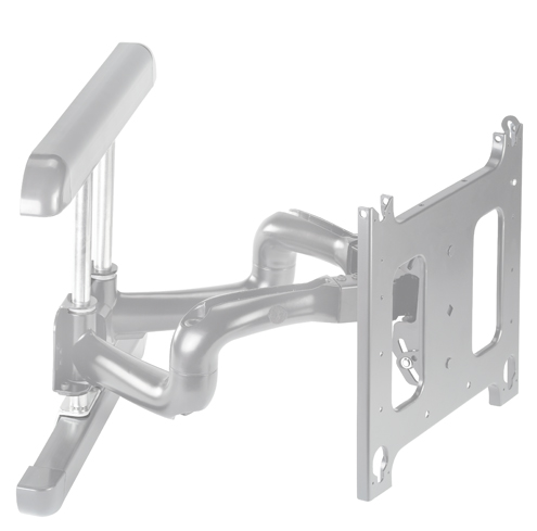 Chief® Professional AV Solutions Silver Large Flat Panel Swing Arm Wall Mount-PNR2000S