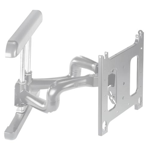 Chief® Professional AV Solutions Silver Large Flat Panel Swing Arm Wall Mount-PNRUS