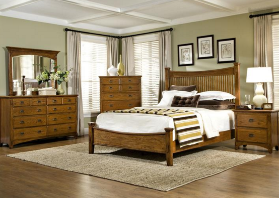 Intercon Pasadena Revival Collection Slat King Bed Headboard-PR-BR-5450K-MBN-HB