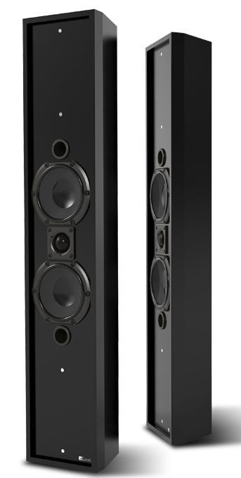 Leon Speaker Profile Series On Wall Speaker-PR404