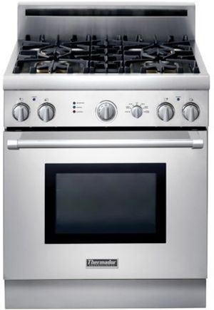 """Thermador® Professional Series Pro Harmony 30"""" Pro Style Gas Range-PRG304GH"""