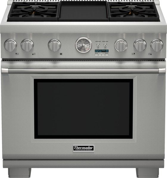 """Thermador® Professional Series Pro Grand® 36"""" Pro Style Gas Range-PRG364JDG"""