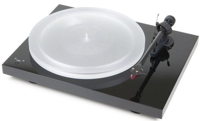 Pro-Ject Debut Carbon RecordMaster HiRes Turntable-High Gloss Black-Debut RecordMaster HiRes-BL-Debut RecordMaster HiRes-BL