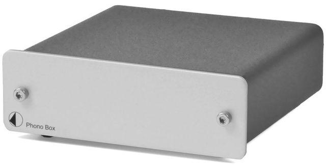 Pro-Ject Phono Box DC Silver Preamplifier-Phono Box DC-Silver