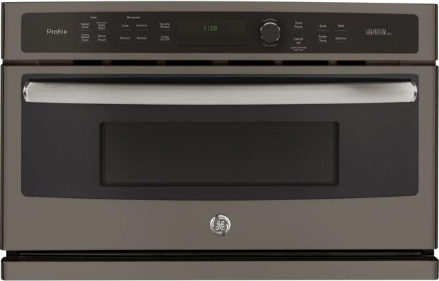 """GE Profile™ 29.75"""" Slate Electric Single Oven Built In-PSB9120EFES"""