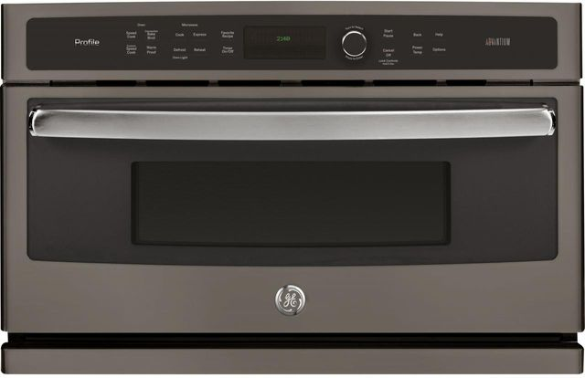 """GE Profile™ 29.78"""" Slate Electric Single Oven Built In-PSB9240EFES"""
