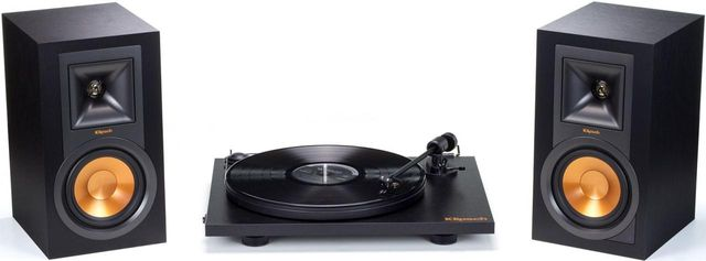 Klipsch® Reference Powered Turntable System-R-15PM TURNTABLE PACK