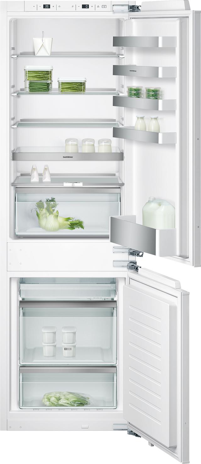 Gaggenau 200 Series 10 Cu. Ft. Bottom Freezer Refrigerator-RB280703
