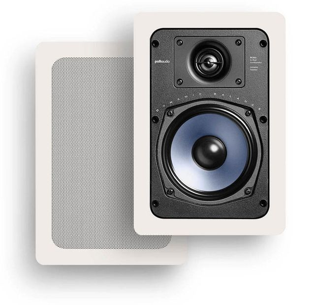 "Polk Audio® RCi Series RC55I 5.25"" In-Wall Speaker (Pair)-AW0055"