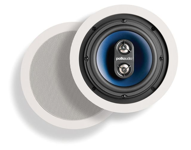 """Polk Audio® RC6s 6.5"""" In-Ceiling Speaker (Pair)-AW6000"""