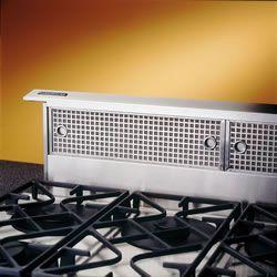 """Broan® Elite 48"""" Stainless Steel Downdraft Range Hood-RMDD4804EX"""